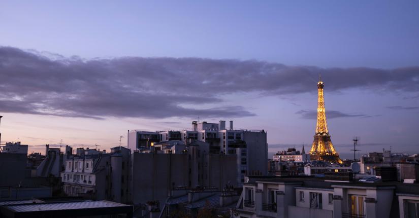 Maison 46 - Chambre - Tour Eiffel